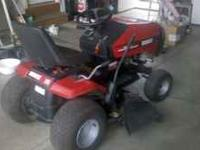 Huskee Heavy-Duty Series riding lawn mower/tractor