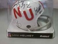 I have this great heisman autographed mini helmet