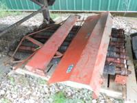 New Idea 12 roll husking bed. Never used. Call  or  for