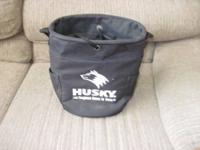 This Husky 11 inch tall, 10 inch diameter Bucket Style