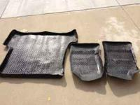 Set of Husky Floor Liner for 3rd Generation Toyota