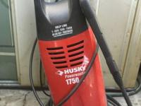 I am selling a Husky Power Washer 1750 PSI Residential