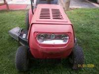 Have a huskey riding mower for sale runs and looks good