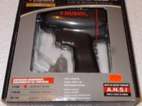 "Husky 3/8"" Impact Wrench. Model # 666628. Utilized"