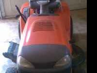 "I'm selling my Husquvarna 42"" Lawn Tractor. It's a"