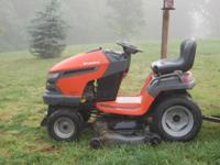 Husqvarna 26hp 54in cut almost 2 yrs old, EC bought