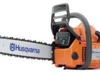 For Sale: model 340 Husqvarna 340 chainsaw in good
