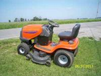 "Husqvarna Riding Mower, with a 48 "" Inch Cut, 24 Horse"
