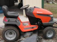 "Husqvarna 54"" cut Riding Mower. 26 hp with BNS motor."