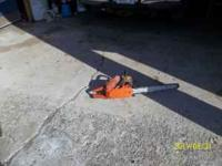 FOR SALE HUSQVARNA CHAINSAW model #288 20 inch bar,