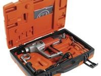 New, handheld drill motor with attractive design and