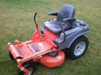 Selling my Husqvarna EZ3417 commercial sit on mower.