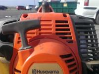 Husqvarna Gas weed trimmer, used one season, then I