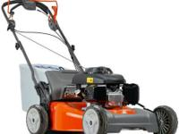 This reliable lawn mower showcases a sturdy steel deck