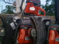 Up for sale are 3 used but in good condition Husqvarna