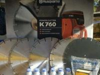 I have for sale a Brand New Husqvarna K 760 Cut off