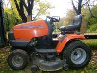 2002 Husqvarna model #GTH2548XP 25 hp kawasaki v-twin