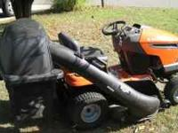 "Almost NEW 46"" Husqvarna riding mower (Automatic) 20hp"