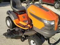 "Like new Riding Mower. 23hp 48"" deck. New oil and"