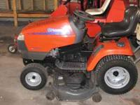 2005 HUSQVARNA RIDING LAWN MOWER $1300 OBO, 120 HOURS,