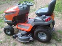 I have for sale a Husqvarna riding mower. I purchased
