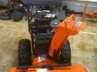 Husqvarna snow blowers are here... We have single stage