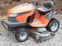 We have this Husqvarna tractor it works fine & Good