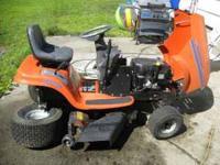 "Husqvarna YTH 150 rider mower 42""deck, hydrostatic"