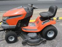 Husqvarna YTH2348 Riding Mower for sale. Runs good,
