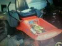 i have a 48 inch zero turn residental mower for sale.