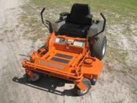 Husqvarna zero turn commerical mower 19 HP kawaski