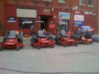 COME CHECK OUT OUR 2011 MOWERS. WE ARE GETTING
