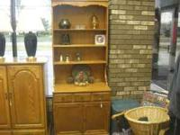 Hutch 2 pieces 30 longx18 wide x bottom 30tall both