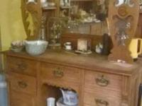 Hutch is 150 years old an in great shape, Asking 400 ,