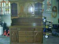 I have a late 60's or early 70's Hutch/Buffet-2 piece