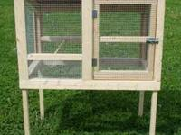 This is a very nice constructed hutch that can be used