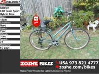 Hybrid 45cm Raleigh C30 Cross Sport Bikezoshe