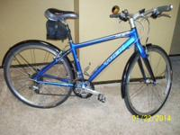 "2009 design, blue color, 17.5"" frame size. Bought new"