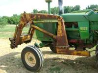I have a loader for sale is currently on a John Deere