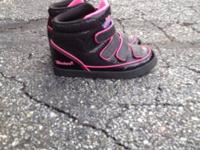 Good condition except for scuff on left toe. Girls size