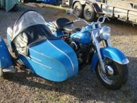 Year: 1950, Exterior Color: Blue, Make: Harley