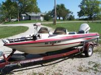 1993 Hydra Sports Fish & Ski boat, 17 ft. 1993 Hydra