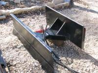 This is a hydraulic angle blade that is built very