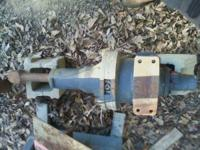 Hydraulic breaker attachment for skid steer or backhoe.