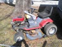 older hydro static mower needs carb cleaned and tires