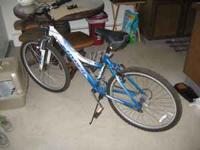 I have a barely used Hyper Breeze woman's mountain bike