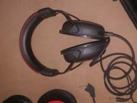 Excellent condition gaming headset with all accessories