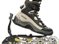 Hypnoblades inline skates, these are detachable so you