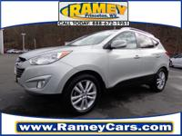 This 2010 Tucson Limited might be the one for you!