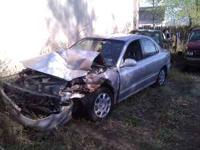I have a wrecked Hyundai Elantra 4 door up for parts.